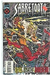 Click here to enlarge image and see more about item J2029: Sabretooth - Marvel comics -# ll  March 1995