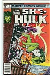 Click here to enlarge image and see more about item J2041: She-Hulk - Marvel comics - April 1980  # 3