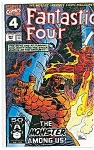Fantastic Four - Marvel comics - # 357    Oct. 1991