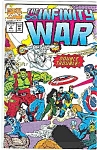 Click here to enlarge image and see more about item J2102: The Infinity War - Marvel comics - # 4  Sept. 1992