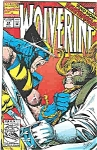 Click here to enlarge image and see more about item J2103: Wolverine - Marvel comics - # 54  May 1992