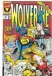 Click here to enlarge image and see more about item J2106: Wolverine - Marvel comics -  # 51   Feb. 1992