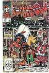 Click here to enlarge image and see more about item J2128: Spider-Man- Marvel comics - # 314  April 1989