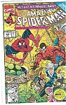 Click here to enlarge image and see more about item J2130: Spiderman - Marvel comics - # 343 Jan. 1991