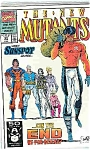 Click here to enlarge image and see more about item J2206: The New Mutants - Marvel comics - # 99 March 1991