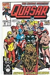 Quasar - Marvel comics - # 28 Nov.  1991