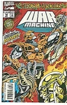 Click here to enlarge image and see more about item J2318: War Machine - Marvel comics - # 10 Jan. 1995