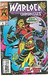Click here to enlarge image and see more about item J2325: Warlock Chronicles - Marvel comics - # 2 August 1992