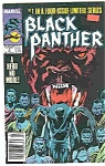 Black Panther - Marvel comics - #lJuly  1988