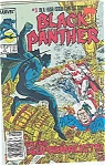 Click here to enlarge image and see more about item J2337: Black Panther - Marvel comis - # 2  August 1988