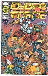 Click here to enlarge image and see more about item J2409: Cyber Force - Image comics - # l  Nov. 1993