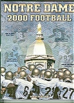 Click here to enlarge image and see more about item J2425A: Notre Dame Football Guide for 2000
