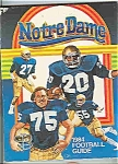 Click here to enlarge image and see more about item J2429: Notre Dame 1984 Football Guide