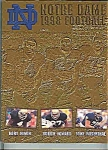 Click here to enlarge image and see more about item J2437: Notre Dame Football Guide 1998