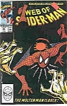 Spiderman - Marvel comics -- # 62 March 1990