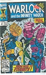 Click here to enlarge image and see more about item J2527: Warlock - Marvel comics -# 9 Oct. 1992