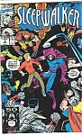 Click here to enlarge image and see more about item J2597: Sleepwalker - Marvel comics - # 3 Aug. 1991