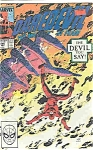 Click here to enlarge image and see more about item J2612: Daredevil - marvel comics - # 266   May 1989