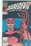 Click here to enlarge image and see more about item J2614: Daredevil - Marvel comics - # 268  July 1989