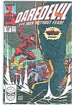 Click here to enlarge image and see more about item J2617: Daredevil - Marvel comics -# 274 Dec. 1989