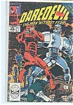 Click here to enlarge image and see more about item J2618: Daredevil - Marvelcomics - # 275  Mid Dec. 1989
