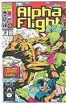 Click here to enlarge image and see more about item J2678: Alpha Flight - Marvel comics - # 98 July 1991