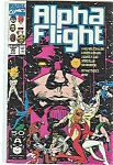 Alpha Flight - Marvel comics - # 99 Aug. 1991