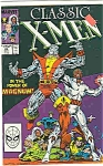 Click here to enlarge image and see more about item J2750: Classic X-Men - Marvel comics - # 25 Sept. 1988