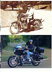 Click here to enlarge image and see more about item J2753a: Harley Davidson Motorcycle SALES BROCHURE 1985 8pg