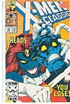 Click here to enlarge image and see more about item J2755: X-Men classic - Marvel comics - # 81  March 1993