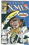 Click here to enlarge image and see more about item J2778: Classic X-Men - Marvel comics - # 29 Jan. 1989