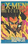 Click here to enlarge image and see more about item J281: X-Men Archives - Marvel comics - # 1 Jan. 1995