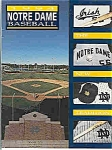 Click here to enlarge image and see more about item J2822: Notre Dame baseball guide 1994