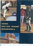 Click here to enlarge image and see more about item J2833: Notre Dame baseball guide 1995