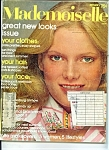 Click here to enlarge image and see more about item J2836a: Mademoiselle magazine - January 1975