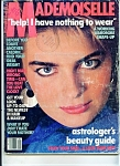 Click here to enlarge image and see more about item J2838a: Mademoiselle Magazine- January 1985