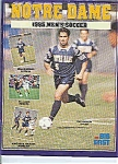 Click here to enlarge image and see more about item J2839: Notre Dame men's Soccer guide 1995
