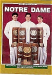 Click here to enlarge image and see more about item J2840: Notre Dame Men's & Women's Fencing 1990