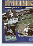 Notre Dame Men's and Women's tennis teams 1995-96