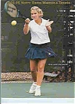 Notre Dame's Mens and womens Tennis guide 1994-95