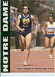 Click here to enlarge image and see more about item J2851: Notre Dame mens and women s Track& field teams 95