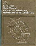 1978 Truck shop manual - Ford
