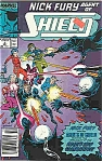 Click here to enlarge image and see more about item J2971: Nick Fury-Shield- Marvel comics - # 2 Oct. 1989
