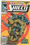 Click here to enlarge image and see more about item J2972: Nick Fury-Shield - Marvel comics - # 3 Nov. 1989