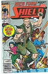 Click here to enlarge image and see more about item J2978: Nick Fury-Shield - Marvel Comics - # 4 Nov. 1989