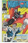 Click here to enlarge image and see more about item J3002: Nightwatch - Marvel comics - # 4 July 1994