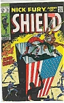 Click here to enlarge image and see more about item J3015: Nick Fury, agent of Shield -Marvel comics-#13 July 69