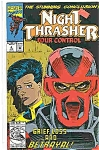 Click here to enlarge image and see more about item J3028: Night Thrasher - Four control - Jan. 1993   # 4 Marvel
