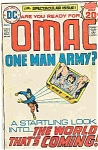 Omac - one man army DC comics-# `1 - Oct. 1974