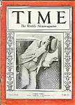 Click here to enlarge image and see more about item J3198: Time Magazine - May l4, l934